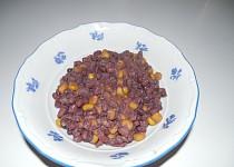 Fazole s kukuřicí sin chilli sin carne :-)