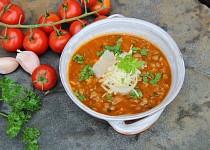 Italská čočková polévka