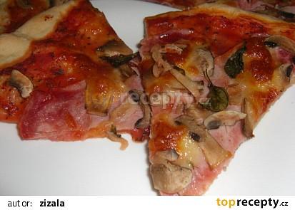 Italské těsto na pizzu 2