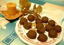 Jahodovo-ořechové pralinky