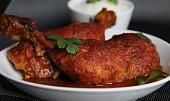 Kuře v cibulové curry marinádě