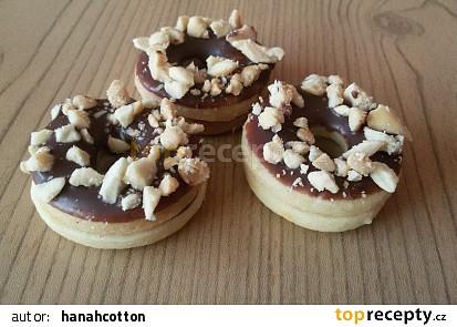 Nutellovo - arašídové kroužky