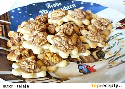 Ořechové květinky