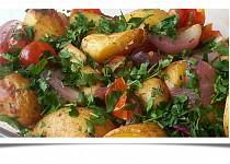 Pečené zeleninové brambory