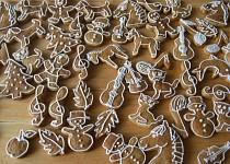 Perníčky ze šlehačky - vykrajované