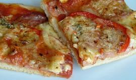 Pizza s loštickou příchutí