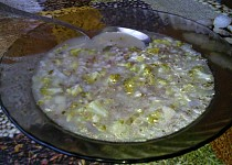 Povánoční polévka