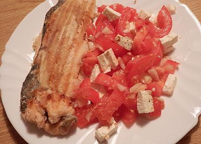 Příloha - rajčatový salát