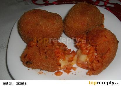 Rýžové krokety (Suppli di riso)