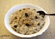 Rýžovo-oříšková/semínková kaše