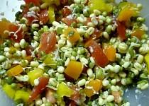 Salát z fazolek mungo