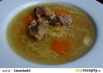 Slepičí polévka - pařátová