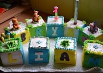 Torta pre vnúčika k 1. narodeninám