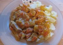 Vepřové maso na máslové dýni a mrkvi (vhodné i pro bezlepkovou dietu)