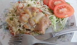 Zapečené kuřecí s rýží