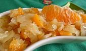 Zelný salát s pomerančem