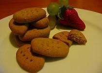 Bezlepkové karamelové sušenky