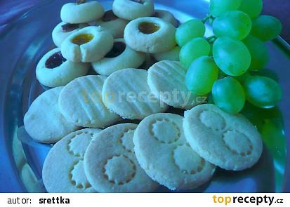 Bezlepkové máslové sušenky