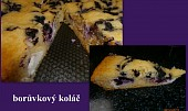 Borůvkový koláč - fofrovník