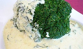Brokolice s kari omáčkou
