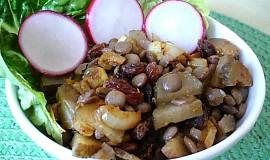 Čočkový salát s kari