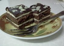 Čokoládovo - mascarpone kostky