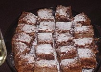 Čokoládový koláč Sanela