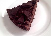 Dietní brownies s překvapením