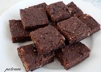 Fazolové brownies bez lepku, mléka a vajec