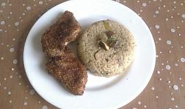 Houbová rýže s kachními prsíčky