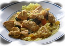 Krůtí kari (curry)