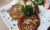Květákovo-bramborové placičky