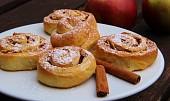 Kynutí skořicovo - jablkoví šneci