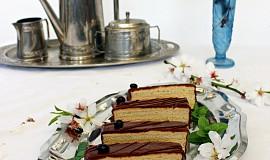 Mandlové řezy s kávovým krémem - Javanais