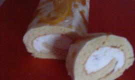 Piškotová roláda s citronovou pěnou