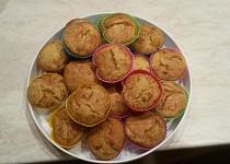 Pomerančové muffiny bez vajec