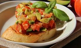 Rajčatový tartar ( tataráček ) na dva způsoby