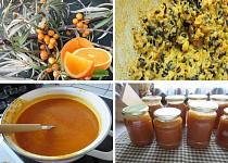 Rakytníkovo-pomerančový džem