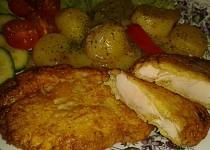 Řízečky v sýrovo-bramborovém těstíčku - marinované