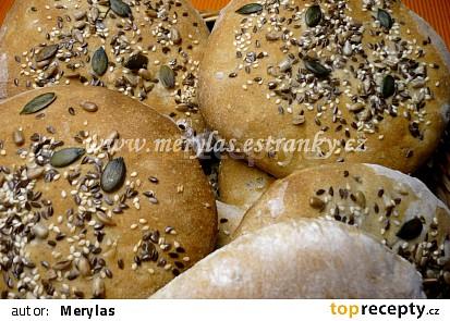 Semínkové bochánky nebo placky