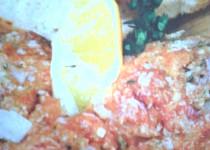 Tataráček z čerstvého lososa
