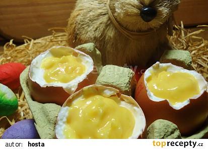 Vajíčka s vaječným koňakem