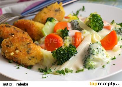 Zeleninové ragú a jáhlové krokety