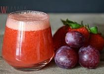 Červený nápoj plný antioxidantů