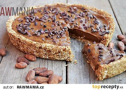 Čokoládový koláč - nepečený