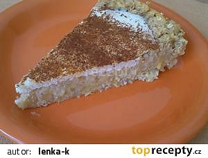 Jablečný ovesný koláč
