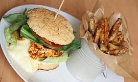 Květákové burger bulky {Bezlepkové}