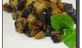 Lilek jako houby (Melanzane a funghetto )