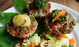 Masovo - zeleninové muffiny