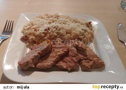 Panenka s italským rizotem